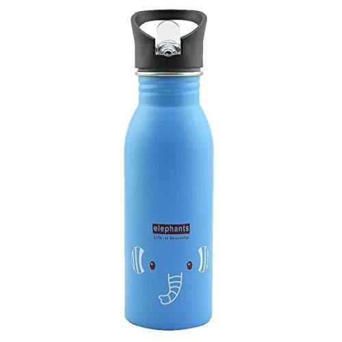 LAVALINK 1pc Botella Botellas De Agua Reutilizable De La Botella De Agua De Acero Inoxidable con Aislamiento De Vacío De Agua a Prueba De Fugas Botella Deportes Frasco
