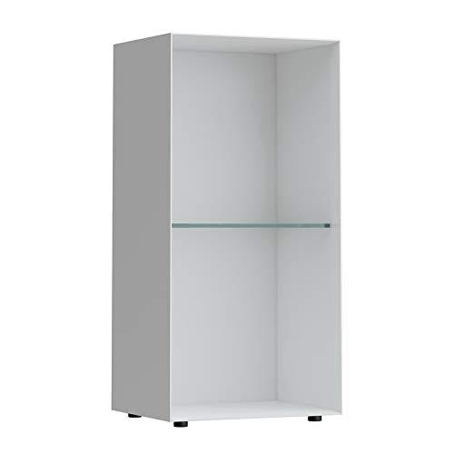 Laufen Palomba Box, rechteckig, mit Ablage, bodenstehend, 275x220x550, Farbe: Snow (weiß matt)
