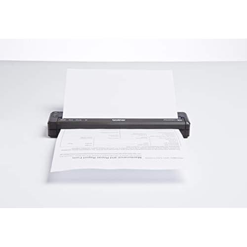 Brother PJ-773 Stampante Portatile A4 con WiFi Direct e USB, Tecnologia di Stampa Termica Diretta, Risoluzione di Stampa Fino a 300 dpi, Compatibile con AirPrint, Ottima per Stampa Mobile e in Campo