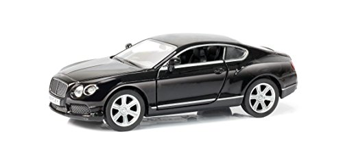 Carro Hot Wheels Luzes E Sons Bentley Continental 1: 32 Diecast Hot Wheels Preto