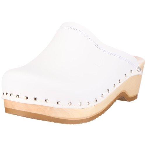 Berkemann Unisex-Erwachsene Natur-Toeffler Clogs, Weiß (weiß), 40 EU