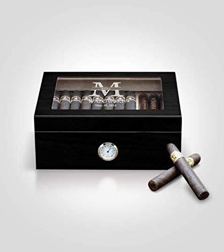 Personalized Cigar Humidor - Humidor Box -Custom Humidor Boxes - Travel Humidor - Personal Humidor - Best Humidor - Humidor Amazon - Custom Humidors - Black Humidor - Cheap Humidors