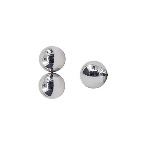 HEALLILY 3 Piezas Clips Magnéticos para Pezones Anillos para Pezones Clips para Pezones Abrazaderas Circulares para Pezones Cadena de Joyería Corporal Clips Vaginales para Mujeres Juguetes