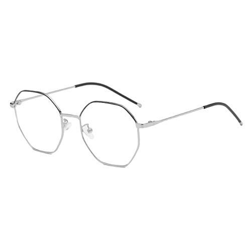Junkai Achteck Brille für Männer Frauen - Mode Brillen Brillengestell - ka18082307