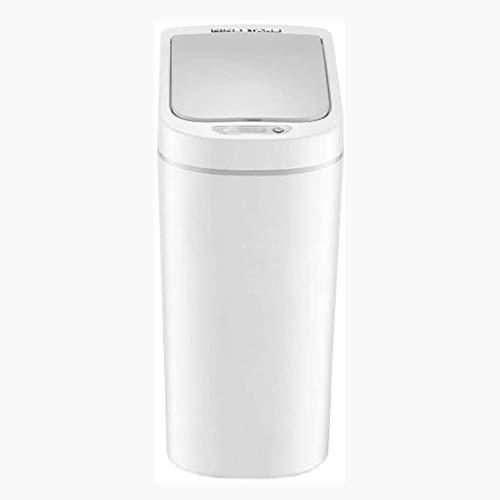 SHYPT Dormitorio o baño de Basura automática del Sensor sin Contacto de Movimiento Infrarrojos del Can, Papelera