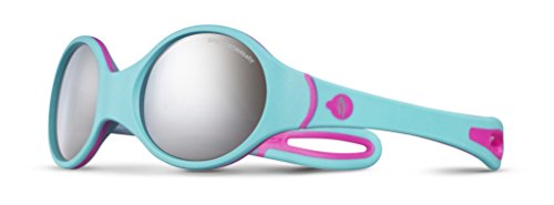 Julbo Loop Sonnenbrille Blau Turquoise/Gris/Rose Fluo