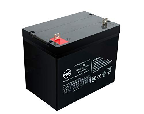 Best Prices! Hoveround XHD 12V 75Ah Wheelchair Battery - This is an AJC Brand Replacement