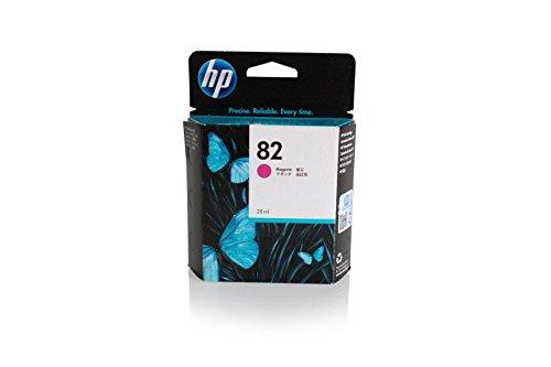 Original HP CH567A / Nr. 82 Tinte (magenta, Inhalt 28 ml) für Designjet 10, 120, 20, 50, 500, 510, 800, 815, 820, CC 800