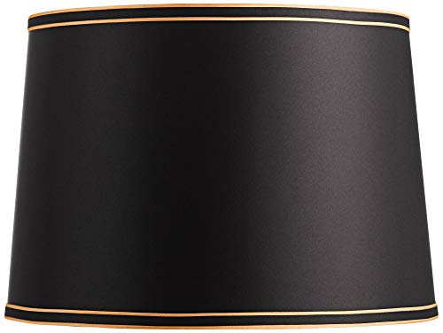 Black Shade with Black and Gold Trim 14x16x11 (Spider) - Springcrest