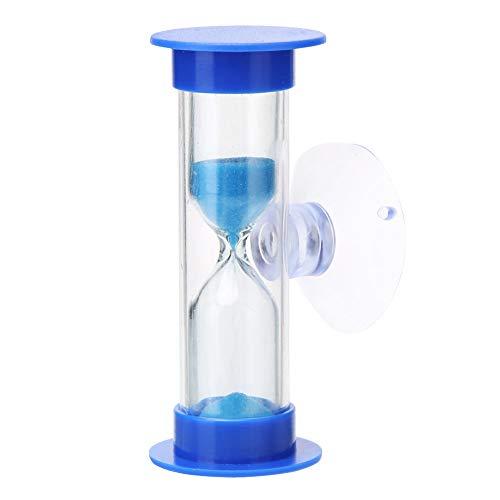2 Minuten Zahnputz-Sanduhr Sanduhr Sanduhr Zahnbürste Uhr Kinder Zähne Zähneputzen Timer mit Saugnapf Home Kitchen Decor