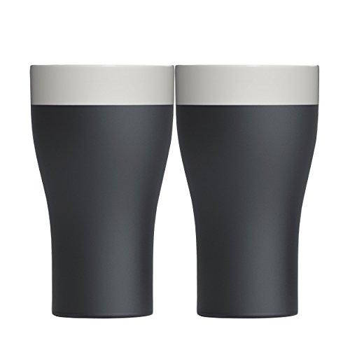 Cool-ID Tumbler 2er-Set schwarz/weiß