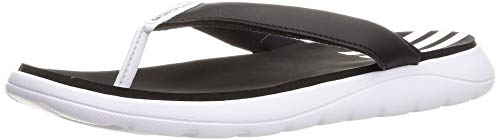 adidas Comfort Flip Flop, Chanclas Mujer, FTWBLA/NEGBÁS/FTWBLA, 39 1/3 EU