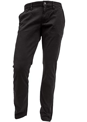 ALBERTO Garment Dyed Pima Cotton Chino Modell Lou in 34/34