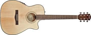 Fender CF140SCE Chitarra acustica amplificata