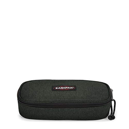 Eastpak Oval Single Astuccio, 22 cm, Verde (Crafty Moss)