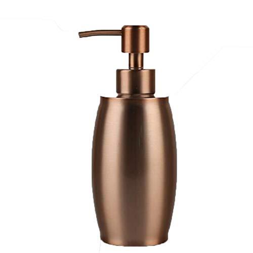 YCX 304 Edelstahl Seifenspender Hand Sanitizer Container Waschbecken Flüssigseife Lotion Dispenser Pumpe Lagerung Inhaber Flasche, Für Küche Bad,Gold