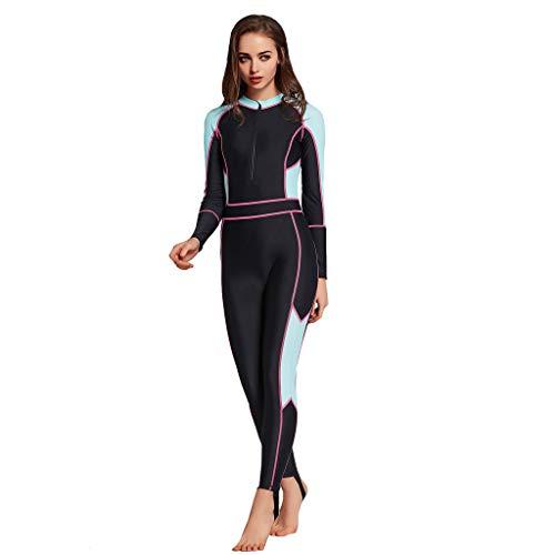 Damen Neoprenanzug Schnorchelkleidung VENMO Frauen Sport Wetsuit Schwimmen Surfanzug Surfen Tauchen Schnorcheln Tauchanzug Einteiliger Schwimm Neoprenanzug