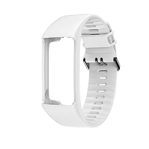 Uhrenarmbänder kompatibel mit Polar A360 A370, Smart Bracelet Ersatzarmband Geeignet für Polar A360 A370, verstellbar mit Schnalle, für Männer und Frauen