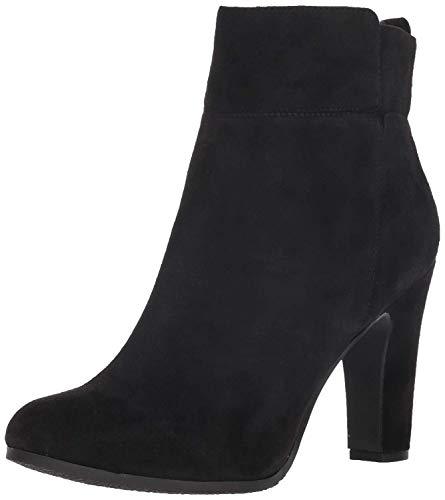 Sam Edelman Women's Sianna Fashion Boot, Black Suede, 6.5 M US