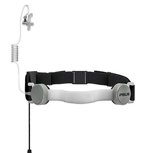 Best Prices! IASUS NT3-R Throat Mic Headset with Acoustic Coil Earpiece