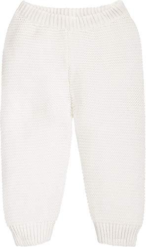 lupilu® Baby Jungen Mädchen Strickhose aus 100% Bio-Baumwolle (Offwhite, Gr. 62/68)