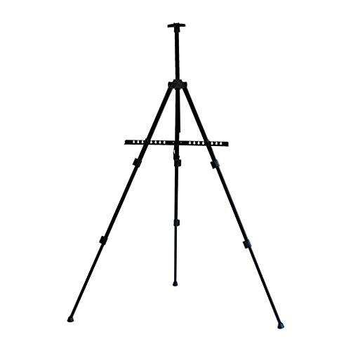 HL-TD-Staffelei Teleskopisch Eisen-Kunst-Staffelei, Geeignet for Kinder Erwachsene Skizze, Easy Gebrauchte Draußen Zu Transportieren Art