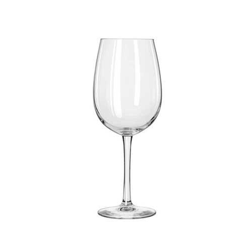 Libbey Vina Copa de vino con grabado Pour líneas, 16Ounce–-12PER caso.