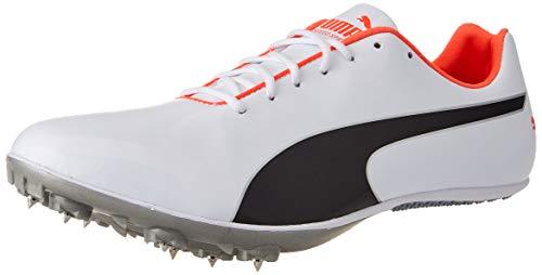 PUMA 193452, Zapatillas de Atletismo Unisex Adulto, Blanco Negro Lava Blast, 40.5 EU