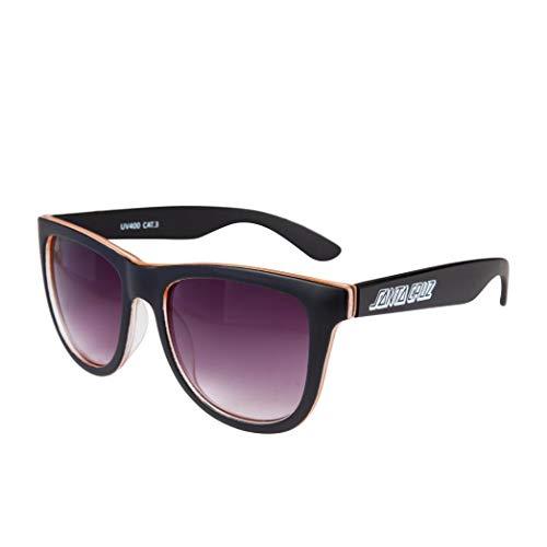 Santa Cruz Bench Sunglasses One Size Black/orange