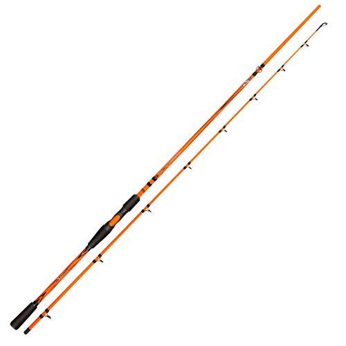 Abu Garcia Svartzonker X Series - Canna da pesca e mulinelli, 2,1 m, 30-100 g, colore: Arancione
