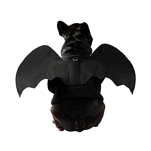 PAWZ Road Halloween Bat Pet Costume for Dogs and Cats from XS to Large -Small