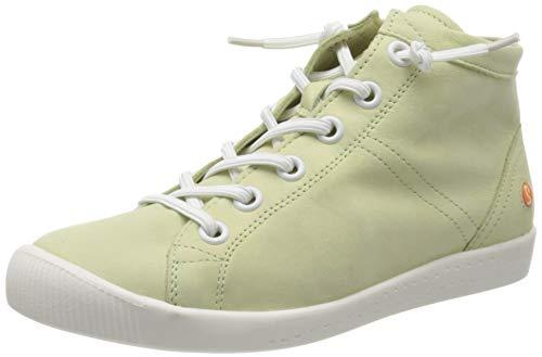 Softinos Damen ISLEEN2586SOF Hohe Sneaker, Grün (Baby Green 002), 43 EU