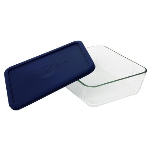 Pyrex 11 Cup Storage Plus Rectangular Dish With Plastic Cover Sold in packs of 2