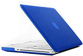 Miss flora MAC accessories .Frosted Hard Protective Case for Macbook Pro 15.4 inch (A1286)(Gold) (Color : Blue)