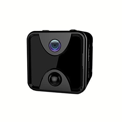 SXTYRL Telecamera Spia, Automatica, Microcamera, Visualizzazione Grandangolare, Nascosta Videocamera, per Interno, Batteria (Color : Black, Size : 0G)