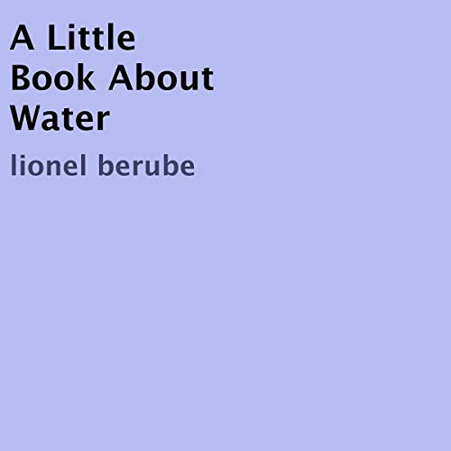 Page de couverture de A Little Book About Water