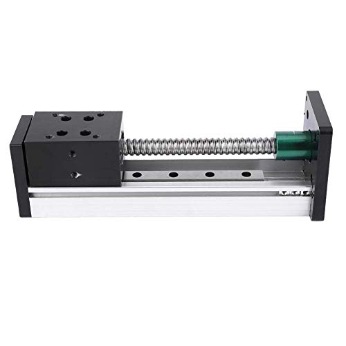 Cheap KONGZIR Linear Guide Rail 1000mm, Aluminum Alloy Linear Guide Rail Slide Ball Screw Motion Tab...