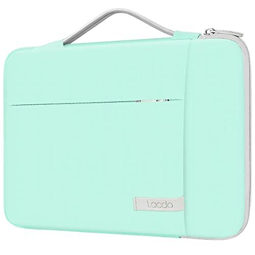 Lacdo 15.6 Zoll 360° R&umschutz Laptop Hülle Tasche für 15.6