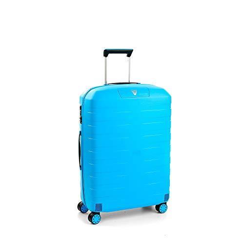 Roncato Box 2.0 Maleta Mediana Azul, Medida: 69 x 46 x 26 cm, Capacidad: 80 l, Pesas: 3.20 kg