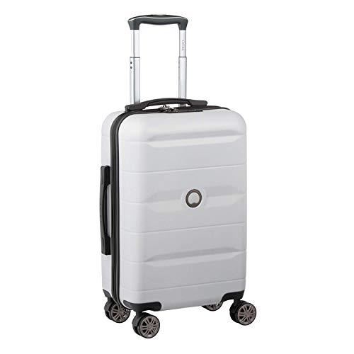 Delsey デルセー スーツケース 機内持ち込み Sサイズ 小型 キャリーケース Mサイズ中型/Lサイズ大型 ABS&PC素材 超軽量 TSAロック搭載 COMETE 39L&シルバーグレー