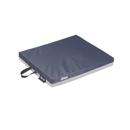"Drive Medical 14888 Skin Protection Gel ""E"" Wheelchair Seat Cushion, 18 x 16 x 2 Inch"