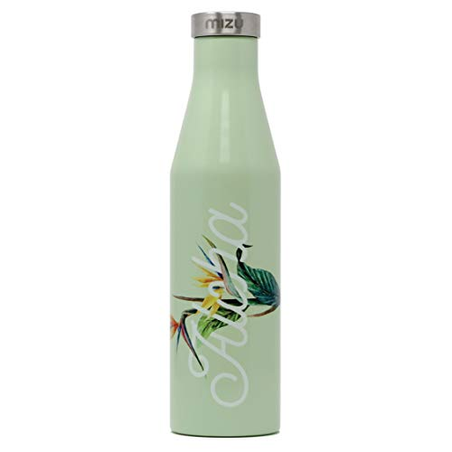 Mizu S6 Insulated Bottle with Stainless Steel Cap 600ml Aloha Glossy Mint 2018 Trinkflasche
