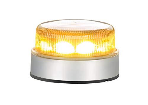 HELLA 2XD 012 980-001 Blitz-Kennleuchte - K-LED Blizzard - LED - 12V/24V - Lichtscheibenfarbe: transparent - LED-Lichtfarbe: gelb - Schraubanschluss - Kabel: 150mm - Menge: 1