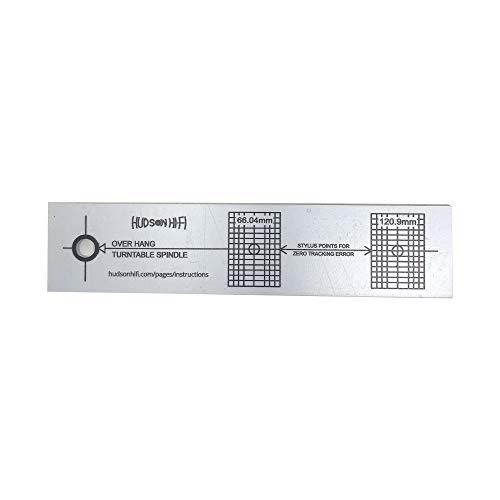 Turntable Phonograph LP Phono Cartridge Stylus Alignment Protractor Tool -...