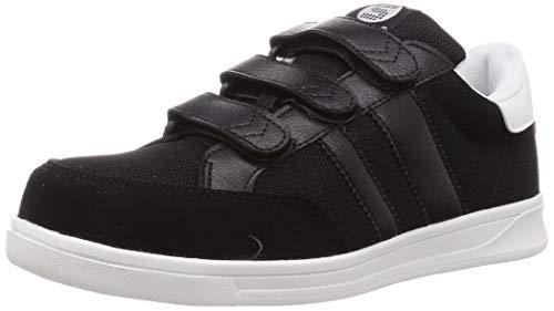 [サンダンス] 安全靴/作業靴 マジックテープ メッシュ 通気性 スニーカー BR-04 ブラック 25 cm 3E