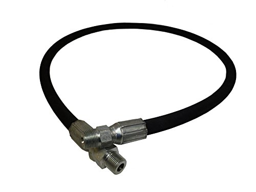 Ultimate Washer UW16-SEF2FC Power Washer Jumper Connecting Hose, 5FT Hose, 3/8-Inch Male Pipe Thread, 4000 PSI Rated