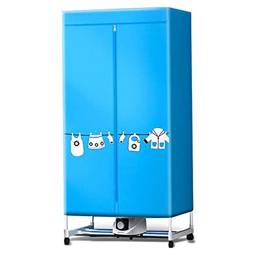 N / B Bolsa de Secado Plegable portátil, Secadora, protección de Alta Temperatura, Resumen Impermeable, tamaño pequeño de Gran Capacidad, Dormitorio doméstico Viaje de Negocios, Azul