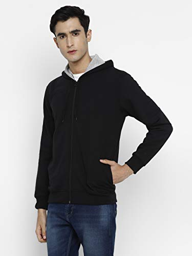 Alan Jones Clothing Men's Cotton Hooded Sweatshirt 3 31ReGPHCrpL