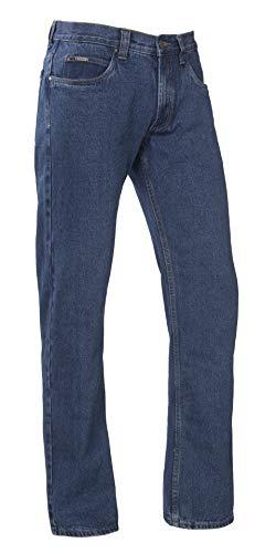 Brams Paris Worker-Jeans Dylan Blue Stone Denim, Größe 34/34