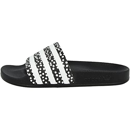 adidas Adilette W, Zapatillas Deportivas Mujer, Core Black Core White Core Black, 38 EU